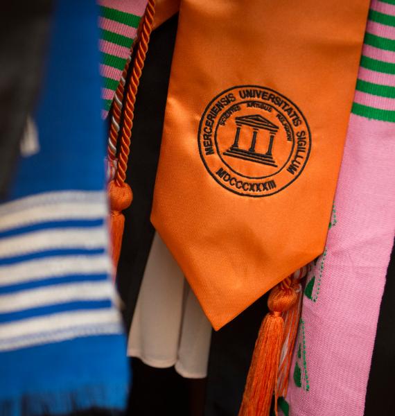 Mercer graduation stoll